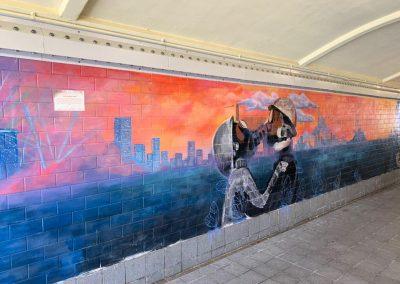 Underpass Murals
